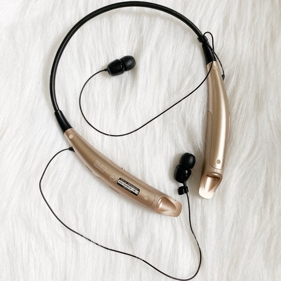 Lg Other Bluetooth Headset In Gold Poshmark